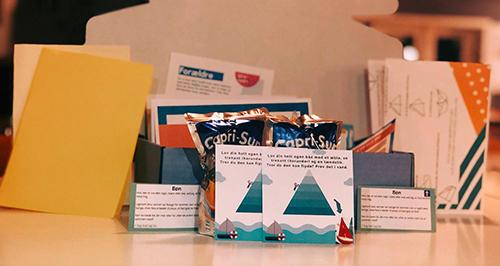 Kirkeibyen i Kolding og Fredericia deler børnekirkepakker ud til familier med børn